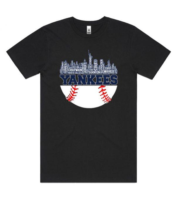 Yankees Baseball Player – Skyline DH T-Shirt