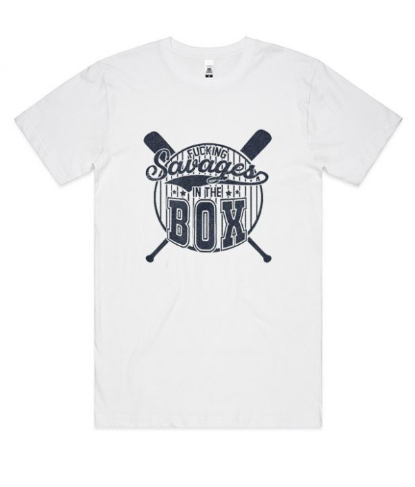 Yankees Fucking Savages in The Box Smooth DH T-Shirt