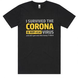 with coronavirus slogans DH T-Shirt
