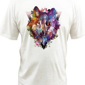 wolf White DH T-Shirt