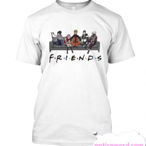 Friends Naruto Couch smooth T Shirt