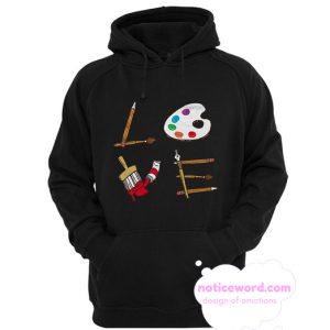 Art Teacher smooth Hoodie