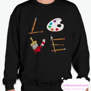 Art Teacher smooth Sweatshirt