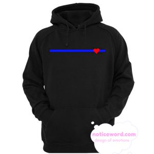 Blue Lives Matter smooth Hoodie