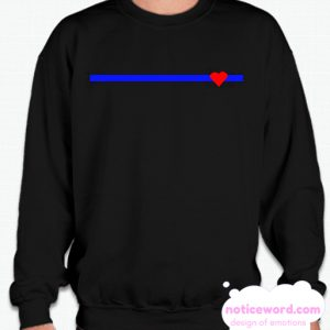Blue Lives Matter smooth Sweatshirt
