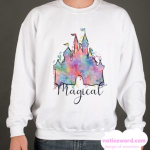 Disney - Magical Castle smooth Sweatshirt
