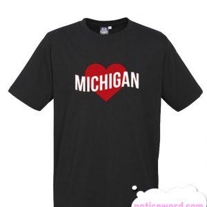 Michigan Love smooth T Shirt
