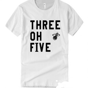Three Oh Five Miami Heat smooth T Shirt