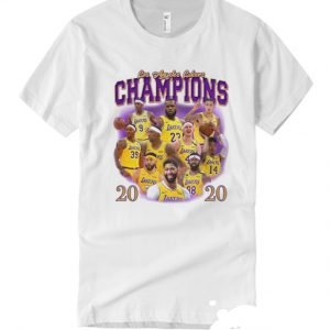 2020 Lakers World Champion smooth T Shirt