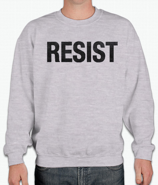 Resist – Political smooth Sweatshirt