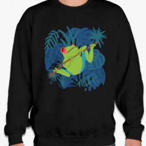 Tom's Bird Feeders Ultimate Frog & Toad Guide Black smooth Sweatshirt