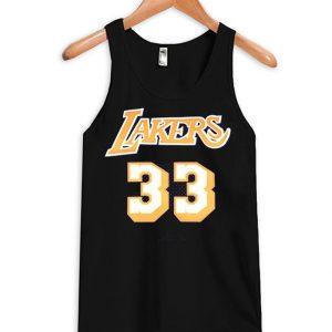 #33 Kareem Abdul-Jabbar Basketball Tank Top